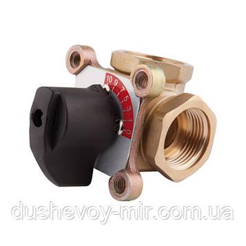 "Клапан трехходовой SD Plus 1"" 12 ВР ручной SD363W40"