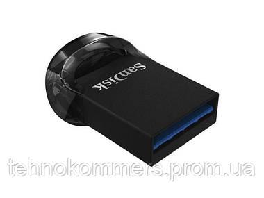 Флеш-накопичувач SanDisk USB3.1 Ultra Fit 128GB Black, фото 2