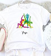 Женская футболка Йога, фото 1