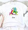 Женская футболка Йога