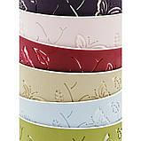Набор горшков для цветов Бабочки 3D 5,3 л / 5 шт. тёмно-зелёный Турция, фото 9