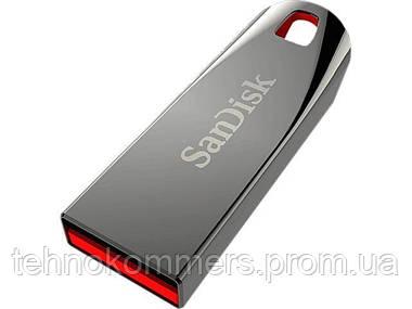 Флеш-накопичувач SanDisk USB2.0 Cruzer Force 16GB Silver-Red, фото 2