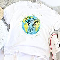 Женская футболка Еlephant, фото 1