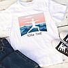 """Мужская футболка """"Yoga time"""""""