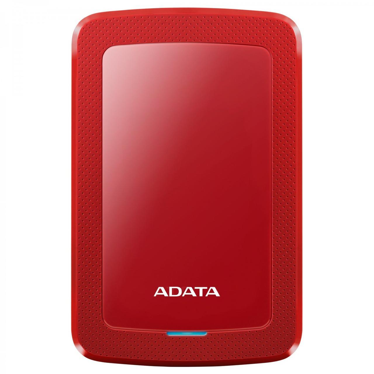 """Жесткий диск внешний A-DATA USB 3.2 Gen1 HV300 2TB 2,5"""" Красный"""