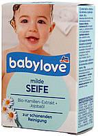 Мыло детское DM Babylove milde Seife 100г.
