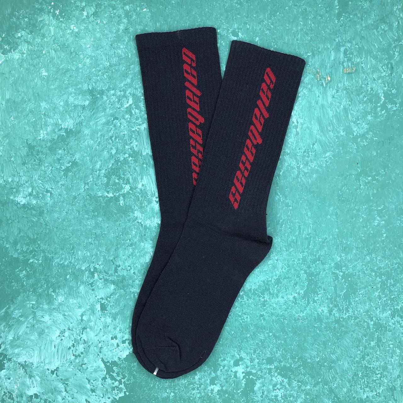 Шкарпетки Високі Жіночі Чоловічі Calabasas Темно-сині 37-45