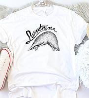 """Женская футболка """"Парватасана"""", фото 1"""