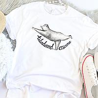 """Женская футболка """"Туладандасана"""", фото 1"""