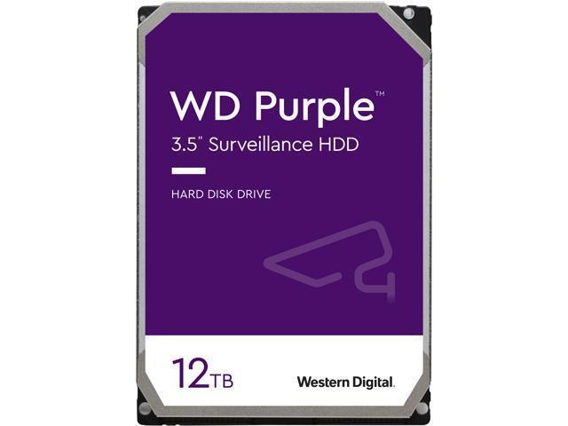 "Жорсткий диск Western Digital Western Digital 3.5"" Purple 12TB 3,5"" SATAIII 7200 об/хв"