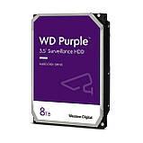 Жорсткий диск 3.5 Western Digital Purple 8Tb (WD84PURZ), фото 2