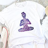 """Жіноча футболка """"Йога"""", фото 1"""