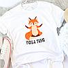 Жіноча футболка Yoga time