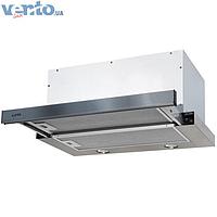 Встраиваемая, телескопическая кухонная вытяжка Ventolux Garda 60 Inox (1000) IT нержавеющая сталь