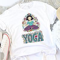 Женская футболка Yoga, фото 1