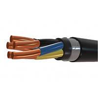 Силовой медный бронированный кабель ВБбШв 5*50