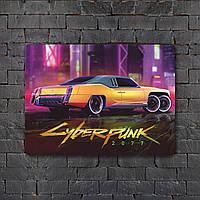 Постер (картина) табличка - Cyberpunk  7