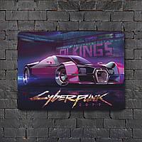 Постер (картина) табличка - Cyberpunk  6