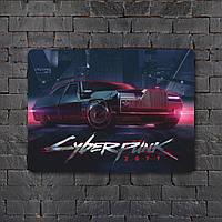 Постер (картина) табличка - Cyberpunk  5