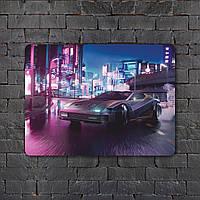 Постер (картина) табличка - Cyberpunk  4