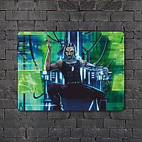 Постер (картина) табличка - Cyberpunk  3