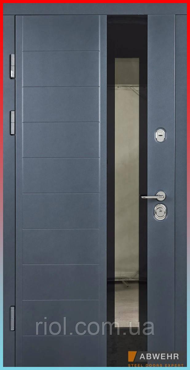 Входные двери с терморазрывом модель Ufo (цвет Ral 7016 + Антроцит) комплектация COTTAGE