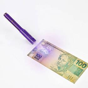 Маркер для перевірки грошей Euro Pen Money Tester, детектор грошей з ліхтариком