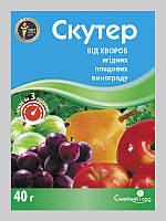 Скутер - Фунгіцид (40 г) контактний для захисту від хвороб плодових, ягідних культур і винограду.