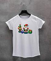 Жіноча футболка Merry Xmas, фото 1