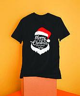 Мужская футболка Merry Christmas, фото 1