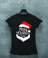 Женская футболка Merry Christmas, фото 1