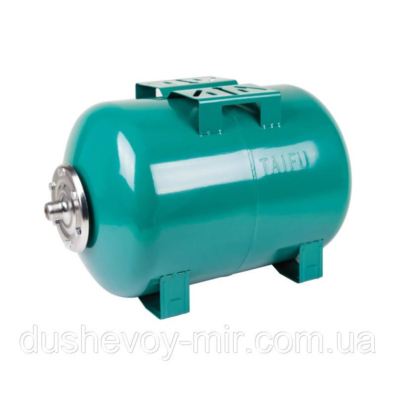 Гідроакумулятор Taifu 80 л горизонтальний