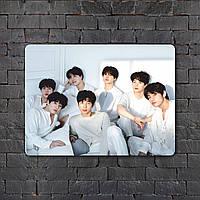 Постер (картина) табличка - BTS (13)