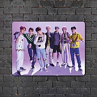 Постер (картина) табличка - BTS (12)