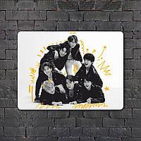 Постер (картина) табличка - BTS (11)