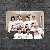 Постер (картина) табличка - BTS (10)