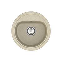 Кухонна мийка Lira LMR 01.44 Beige + сифон
