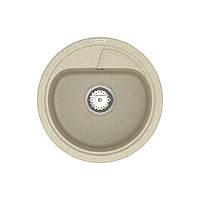 Кухонна мийка Polo PMR 01.44 Beige + сифон