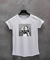 Женская футболка Bye bitch, фото 1