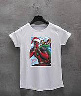 Женская футболка Deadpool Merry Christmas, фото 1