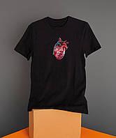 Мужская футболка Heart, фото 1