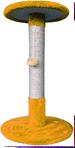 Когтеточка (9 кольорів), сизаль Ø35хØ30х37 см помаранчевий