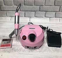 Фрезер для манікюру і педикюру DM - 202 30000 обертів рожевий 35вт