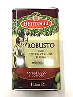 Масло оливковое Robusto Olio Extra Vergine di Olivia холодно отжима, 1 л