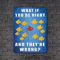 Постер (картина) табличка - Фарго