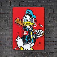 Постер (картина) табличка - Donald Duck