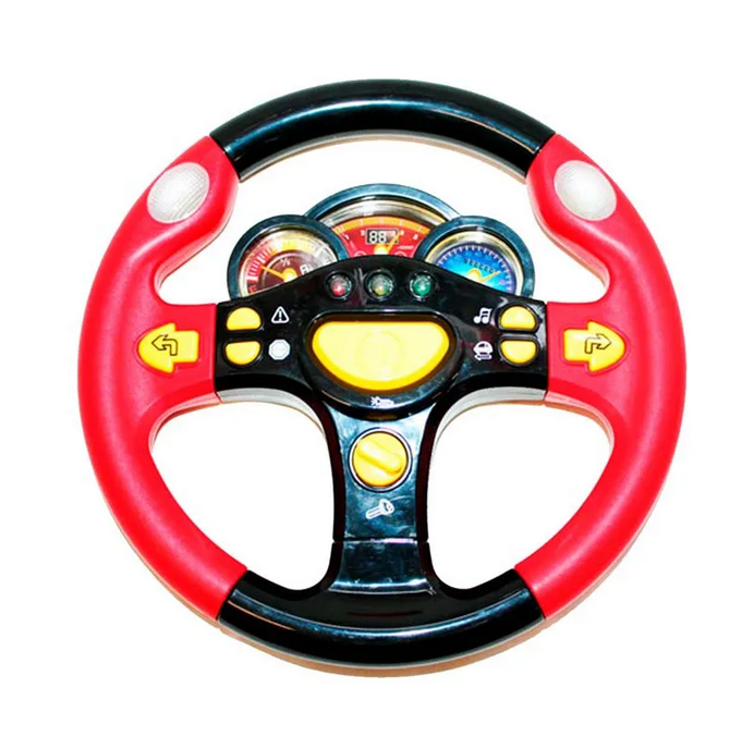 Музыкальная игрушка руль для ребенка маленький водитель с подсветкой и музыкой, игрушки для детей от 3 лет