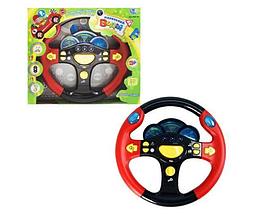 Музыкальная игрушка руль для ребенка маленький водитель с подсветкой и музыкой, игрушки для детей от 3 лет, фото 3