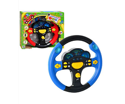 Музыкальная игрушка руль для ребенка маленький водитель с подсветкой и музыкой, игрушки для детей от 3 лет, фото 2