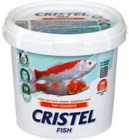 Корм для ставкових видів риб 1 л / 300 гр Cristel KOI Base standart